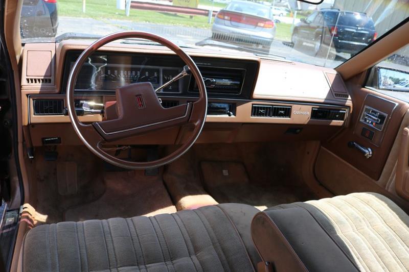 1988 Oldsmobile Cutlass Ciera 4dr Sedan In Parma OH - JT AUTO