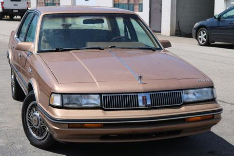 1988 Oldsmobile Cutlass Ciera for sale at JT AUTO in Parma OH