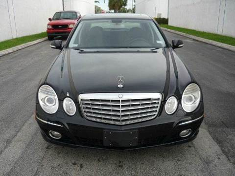 2008 Mercedes-Benz E-Class for sale at INTERNATIONAL AUTO BROKERS INC in Hollywood FL