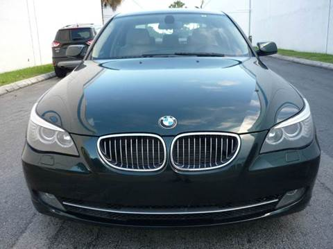 2010 BMW 5 Series for sale at INTERNATIONAL AUTO BROKERS INC in Hollywood FL