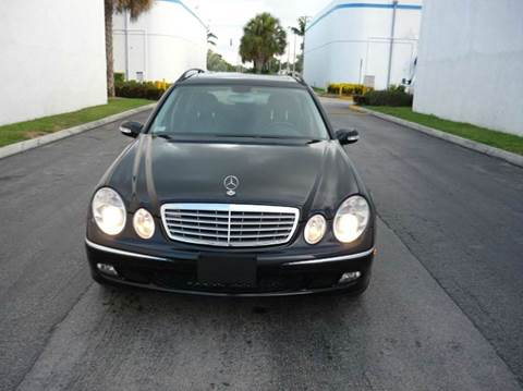 2006 Mercedes-Benz E-Class for sale at INTERNATIONAL AUTO BROKERS INC in Hollywood FL