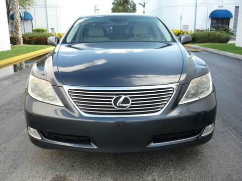 2007 Lexus LS 460 for sale at INTERNATIONAL AUTO BROKERS INC in Hollywood FL
