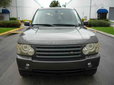2006 Land Rover Range Rover for sale at INTERNATIONAL AUTO BROKERS INC in Hollywood FL