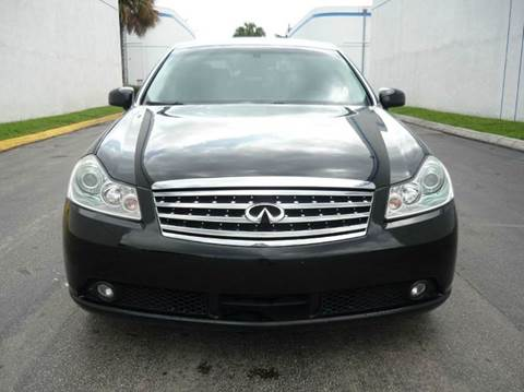 2007 Infiniti M35 for sale at INTERNATIONAL AUTO BROKERS INC in Hollywood FL