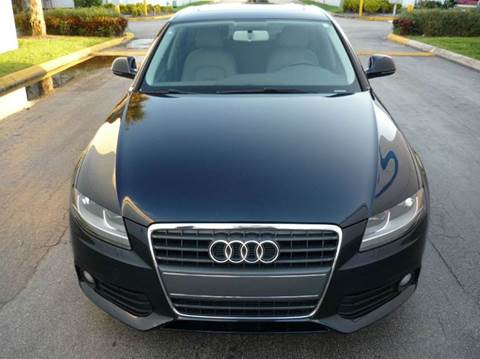 2009 Audi A4 for sale at INTERNATIONAL AUTO BROKERS INC in Hollywood FL