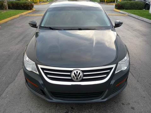 2012 Volkswagen CC for sale at INTERNATIONAL AUTO BROKERS INC in Hollywood FL