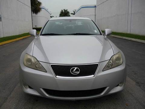 2008 Lexus IS 250 for sale at INTERNATIONAL AUTO BROKERS INC in Hollywood FL