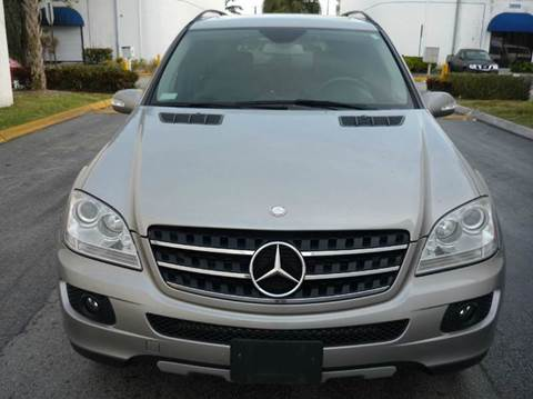 2007 Mercedes-Benz M-Class for sale at INTERNATIONAL AUTO BROKERS INC in Hollywood FL