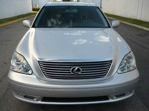 2006 Lexus LS 430 for sale at INTERNATIONAL AUTO BROKERS INC in Hollywood FL