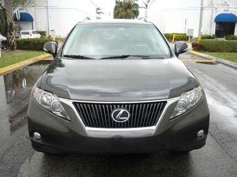 2010 Lexus RX 350 for sale at INTERNATIONAL AUTO BROKERS INC in Hollywood FL