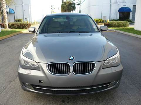2009 BMW 5 Series for sale at INTERNATIONAL AUTO BROKERS INC in Hollywood FL