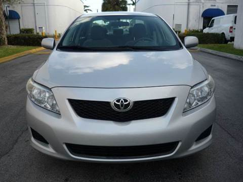 2010 Toyota Corolla for sale at INTERNATIONAL AUTO BROKERS INC in Hollywood FL