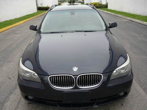 2007 BMW 5 Series for sale at INTERNATIONAL AUTO BROKERS INC in Hollywood FL