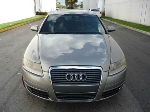 2006 Audi A6 for sale at INTERNATIONAL AUTO BROKERS INC in Hollywood FL