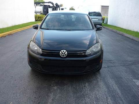 2010 Volkswagen Golf for sale at INTERNATIONAL AUTO BROKERS INC in Hollywood FL