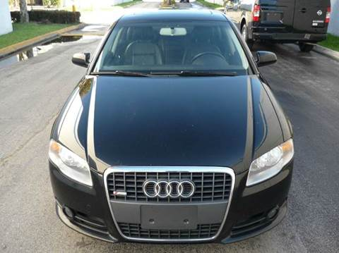 2008 Audi A4 for sale at INTERNATIONAL AUTO BROKERS INC in Hollywood FL