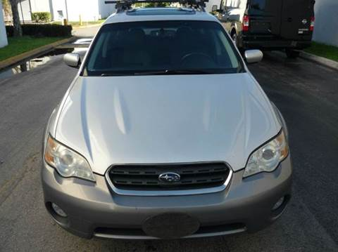 2006 Subaru Outback for sale at INTERNATIONAL AUTO BROKERS INC in Hollywood FL