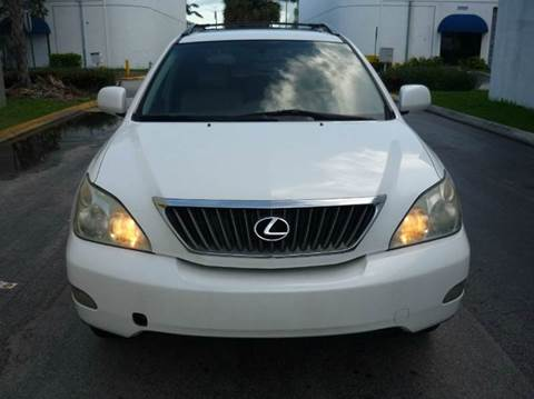 2008 Lexus RX 350 for sale at INTERNATIONAL AUTO BROKERS INC in Hollywood FL