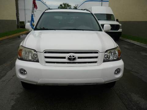 2007 Toyota Highlander for sale at INTERNATIONAL AUTO BROKERS INC in Hollywood FL
