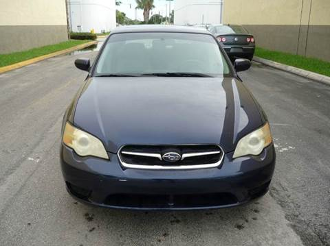 2007 Subaru Legacy for sale at INTERNATIONAL AUTO BROKERS INC in Hollywood FL