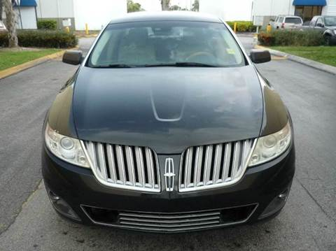 2009 Lincoln MKS for sale at INTERNATIONAL AUTO BROKERS INC in Hollywood FL