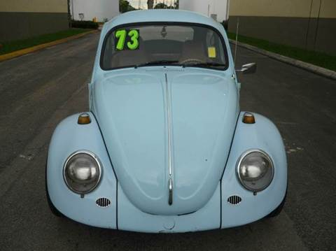1973 Volkswagen Beetle for sale at INTERNATIONAL AUTO BROKERS INC in Hollywood FL