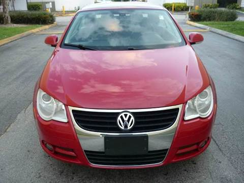 2008 Volkswagen Eos for sale at INTERNATIONAL AUTO BROKERS INC in Hollywood FL
