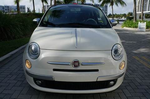 2012 FIAT 500c for sale at INTERNATIONAL AUTO BROKERS INC in Hollywood FL