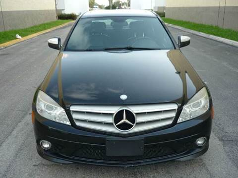 2009 Mercedes-Benz C-Class for sale at INTERNATIONAL AUTO BROKERS INC in Hollywood FL