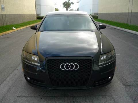 2008 Audi A6 for sale at INTERNATIONAL AUTO BROKERS INC in Hollywood FL