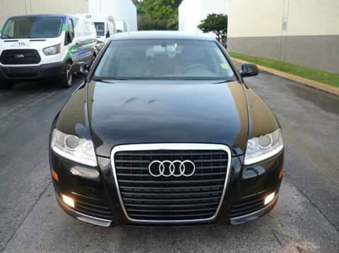 2010 Audi A6 for sale at INTERNATIONAL AUTO BROKERS INC in Hollywood FL