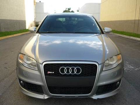 2007 Audi RS 4 for sale at INTERNATIONAL AUTO BROKERS INC in Hollywood FL