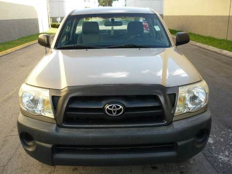 2007 Toyota Tacoma for sale at INTERNATIONAL AUTO BROKERS INC in Hollywood FL