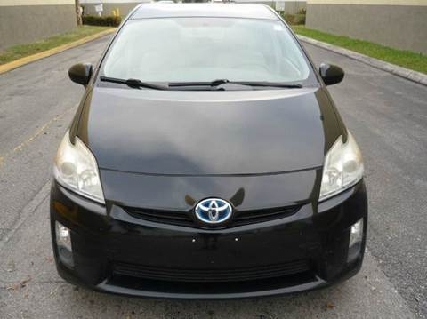 2011 Toyota Prius for sale at INTERNATIONAL AUTO BROKERS INC in Hollywood FL