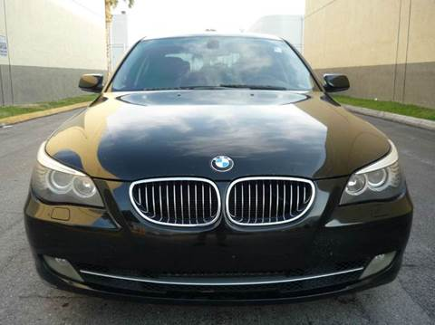 2008 BMW 5 Series for sale at INTERNATIONAL AUTO BROKERS INC in Hollywood FL