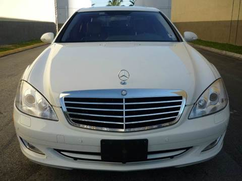 2007 Mercedes-Benz S-Class for sale at INTERNATIONAL AUTO BROKERS INC in Hollywood FL