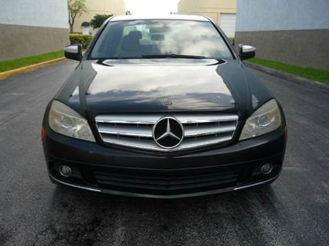 2008 Mercedes-Benz C-Class for sale at INTERNATIONAL AUTO BROKERS INC in Hollywood FL
