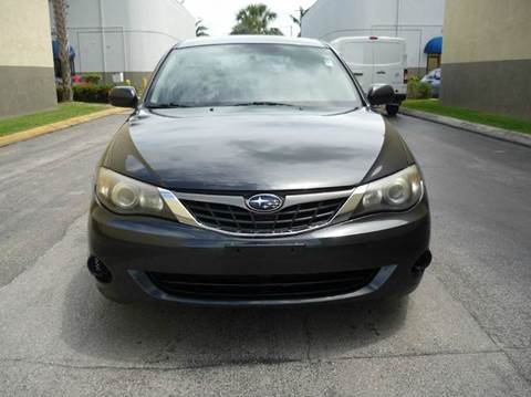 2009 Subaru Impreza for sale at INTERNATIONAL AUTO BROKERS INC in Hollywood FL