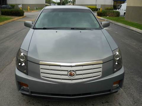2007 Cadillac CTS for sale at INTERNATIONAL AUTO BROKERS INC in Hollywood FL