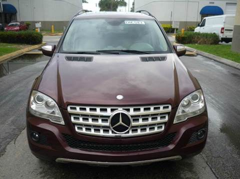 2009 Mercedes-Benz M-Class for sale at INTERNATIONAL AUTO BROKERS INC in Hollywood FL