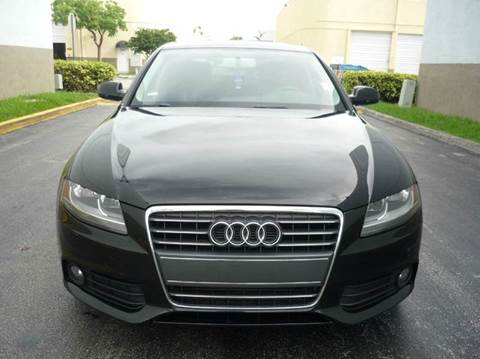 2011 Audi A4 for sale at INTERNATIONAL AUTO BROKERS INC in Hollywood FL