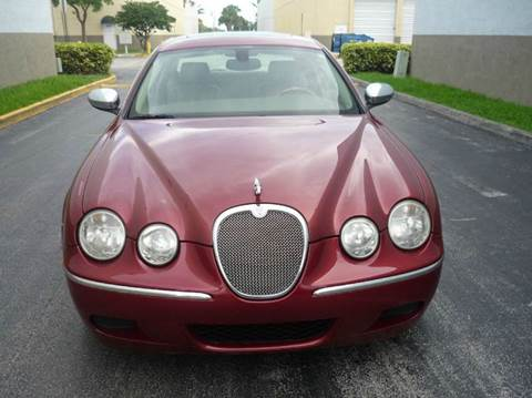 2008 Jaguar S-Type for sale at INTERNATIONAL AUTO BROKERS INC in Hollywood FL
