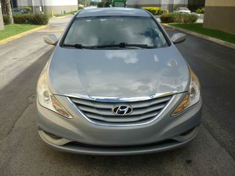 2011 Hyundai Sonata for sale at INTERNATIONAL AUTO BROKERS INC in Hollywood FL