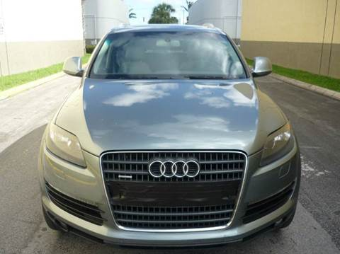 2009 Audi Q7 for sale at INTERNATIONAL AUTO BROKERS INC in Hollywood FL