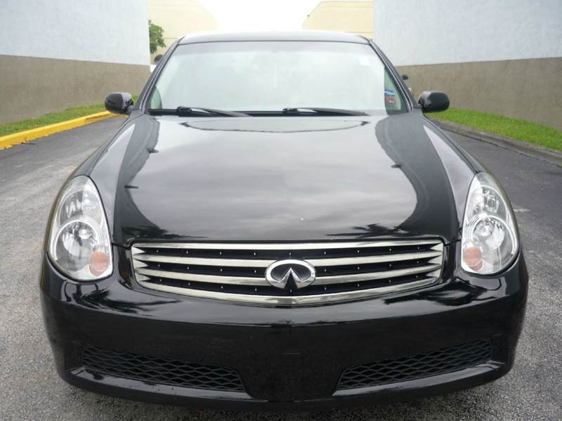 2006 Infiniti G35 Base 4dr Sedan W/Manual   Hollywood FL