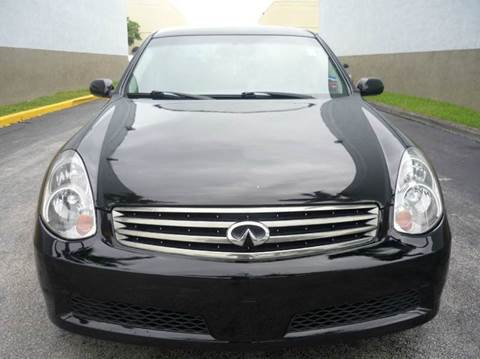 2006 Infiniti G35 for sale at INTERNATIONAL AUTO BROKERS INC in Hollywood FL