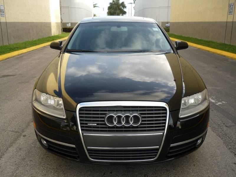 2007 Audi A6 for sale at INTERNATIONAL AUTO BROKERS INC in Hollywood FL