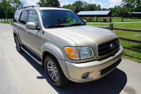 2004 Toyota Sequoia for sale at Wheel Tech Motor Vehicle Sales in Maylene AL
