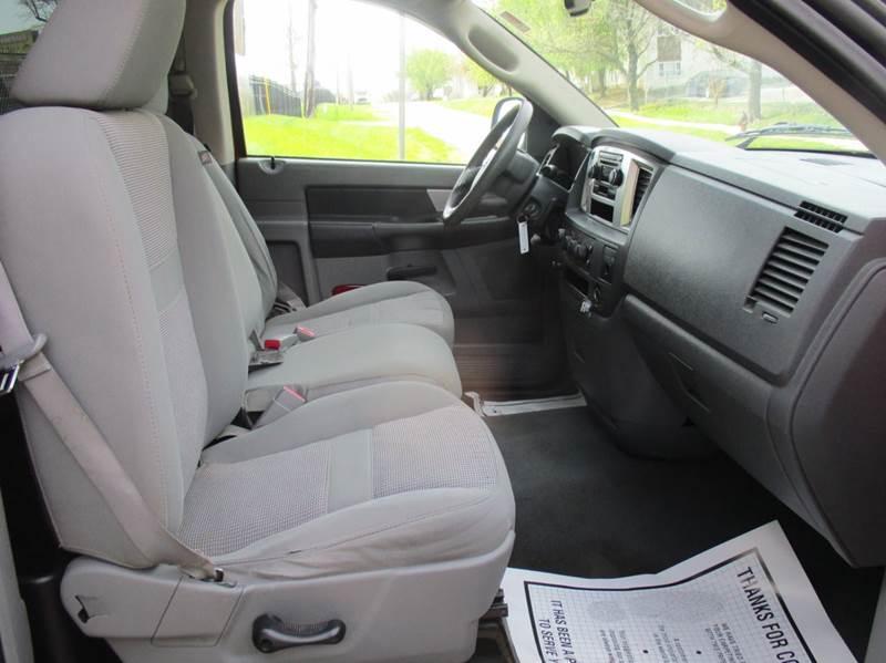 2007 Dodge Ram Pickup 1500 SLT 4x4 2dr Regular Cab LB - Kansas City MO