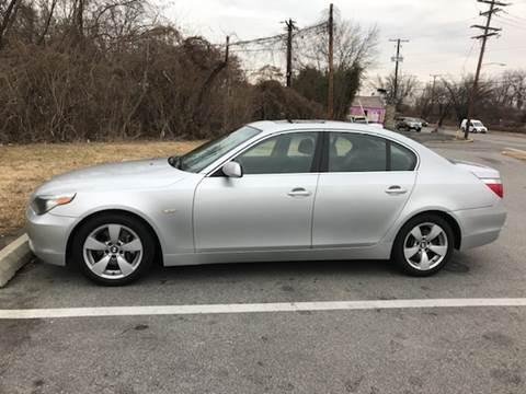 2005 BMW 5 Series for sale in Hyattsville, MD